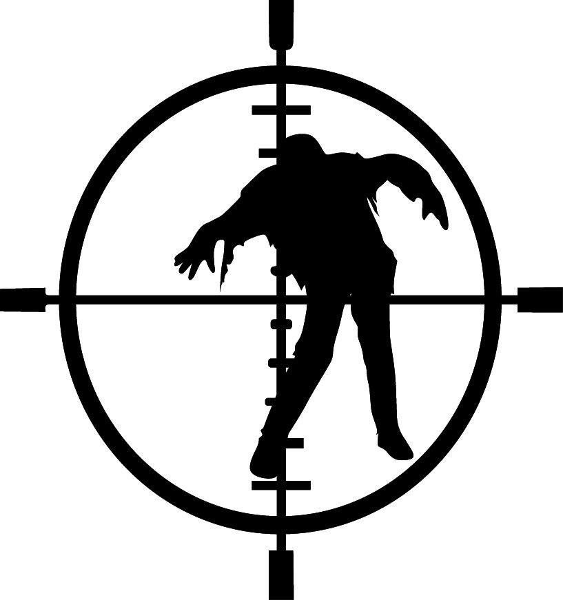 ZOMBIE SIGHTS VINYL DECAL