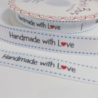 Handmade with love ribbon