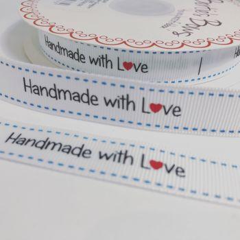 Handmade with love ribbon