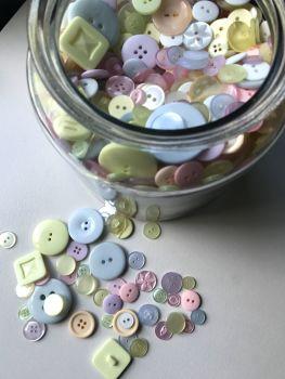 """100g mixed buttons       """"Candy mix"""""""
