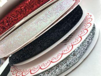 Velvet Glitter Ribbon