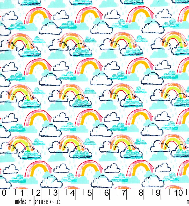 Rainbow Jubilee Michael Miller Fabric