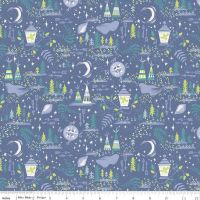 Peter Pans Never Land Fabric - REDUCED