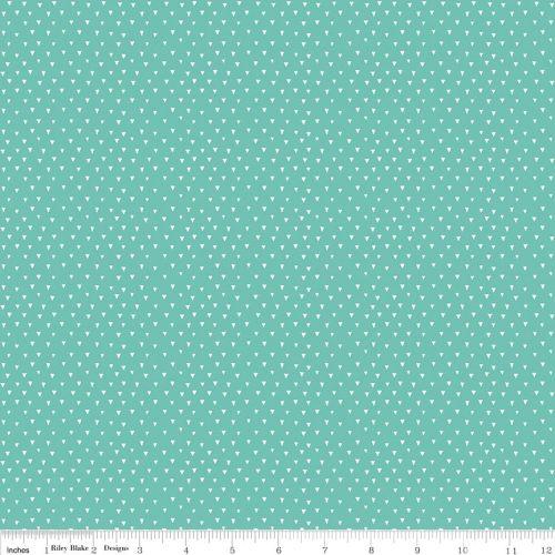 Tiny trinagle colour fabric