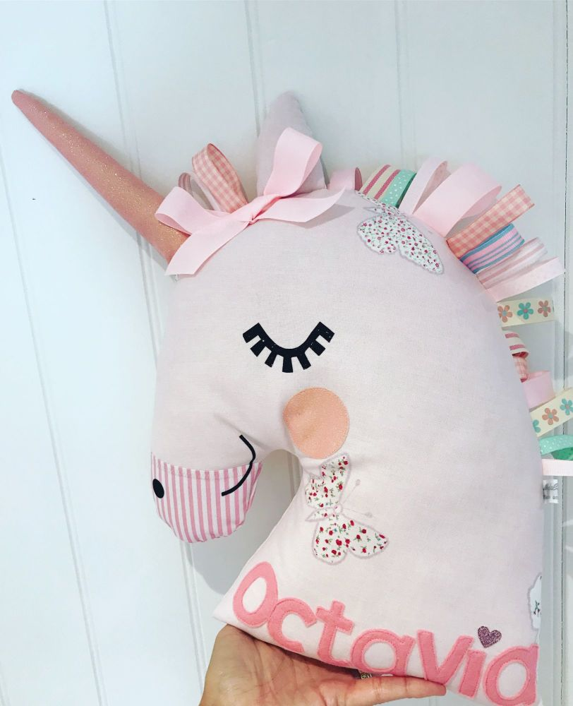 Handmade Unicorn Cushion