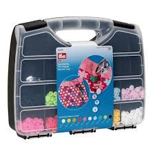 Prym Snap storage case - includes 300 coloured prym snaps