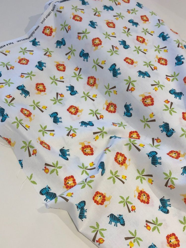Jungle Themed fabric