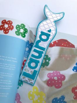 Personalised Mermaid Bookmark