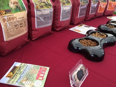 TP Feeds' trade stand at Herefordshire Country Fair