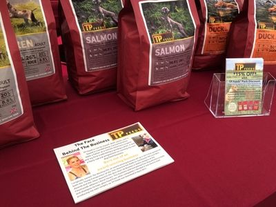 TP Feeds' stand at the Herefordshire Country Fair