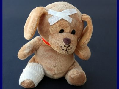 First Aid Teddy Bear