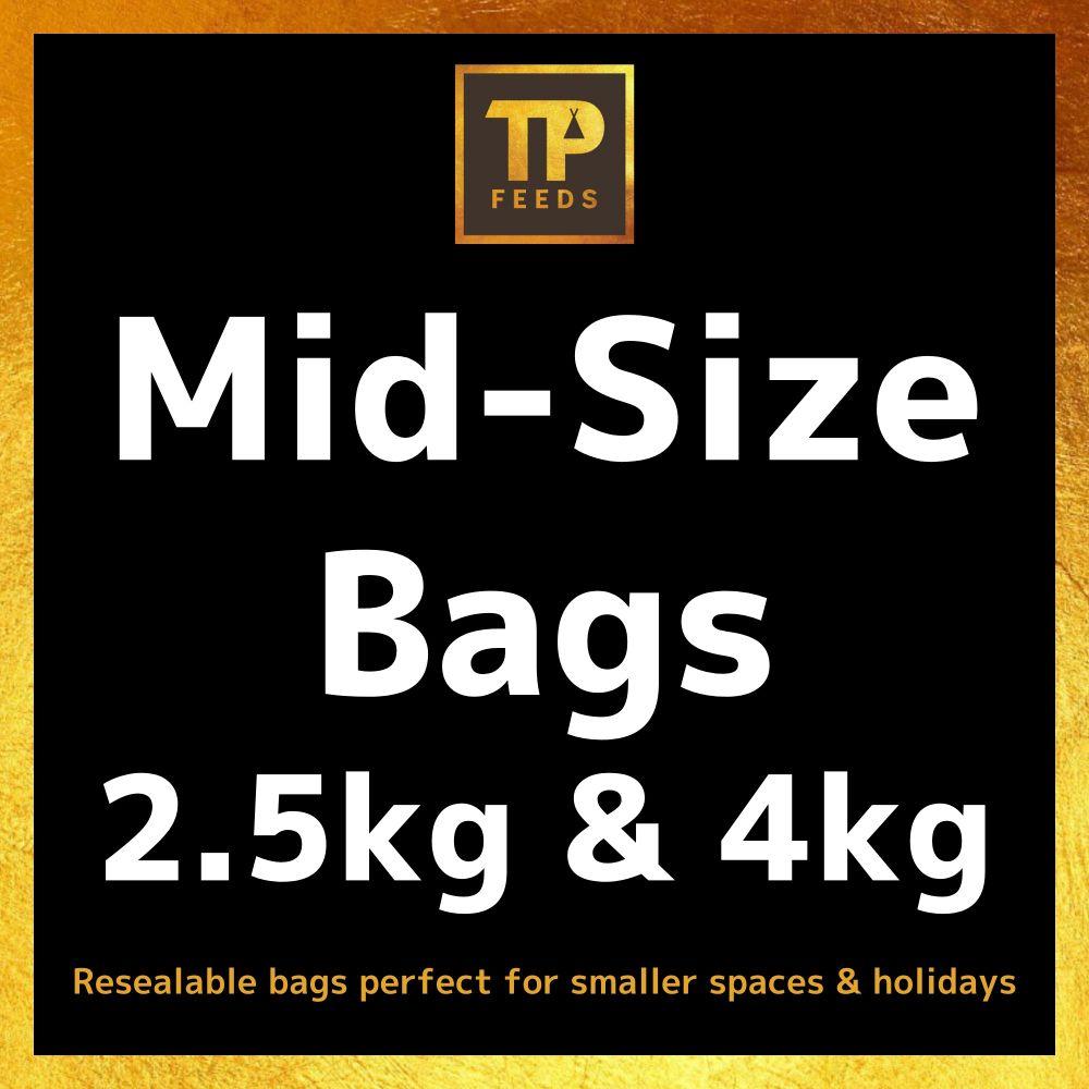 <!--002-->Mid-Size Bags 2.5kg & 4kg