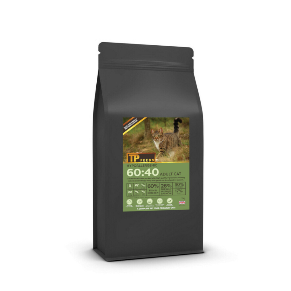 Hypoallergenic 60:40 for Cats 2.5kg (4kg Option)