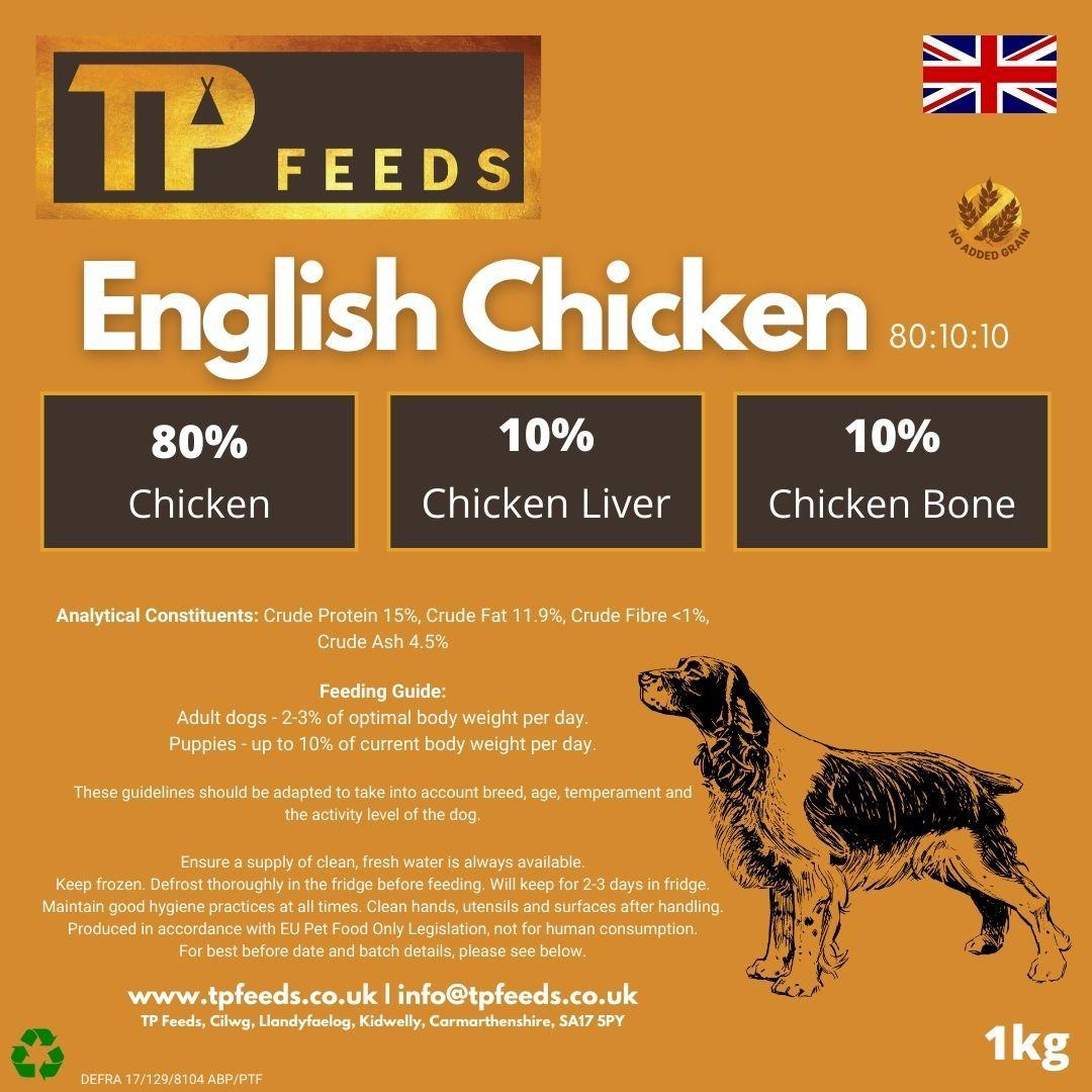 English Chicken 80:10:10 (8 x 1kg)