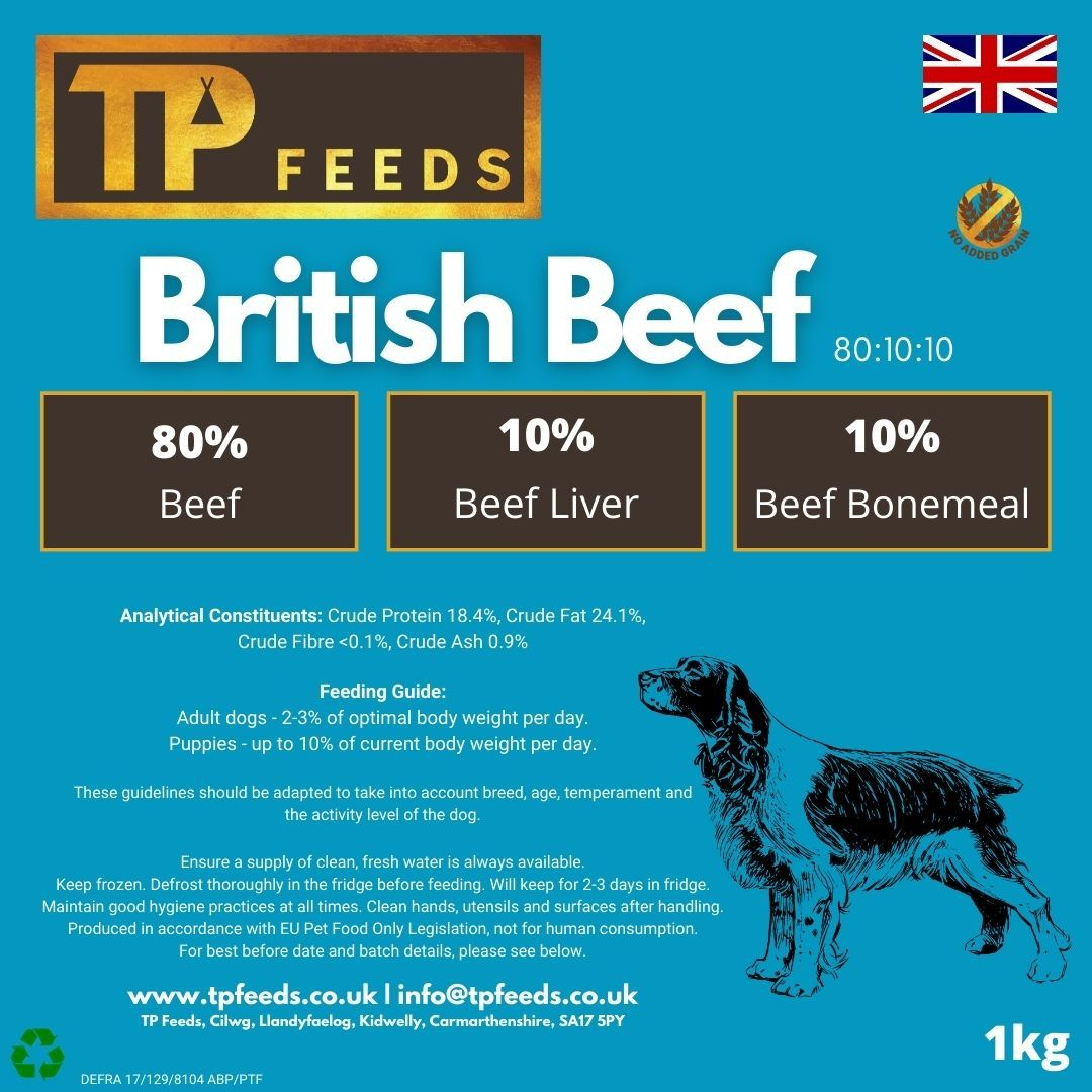 British Beef 80:10:10 (8 x 1kg)