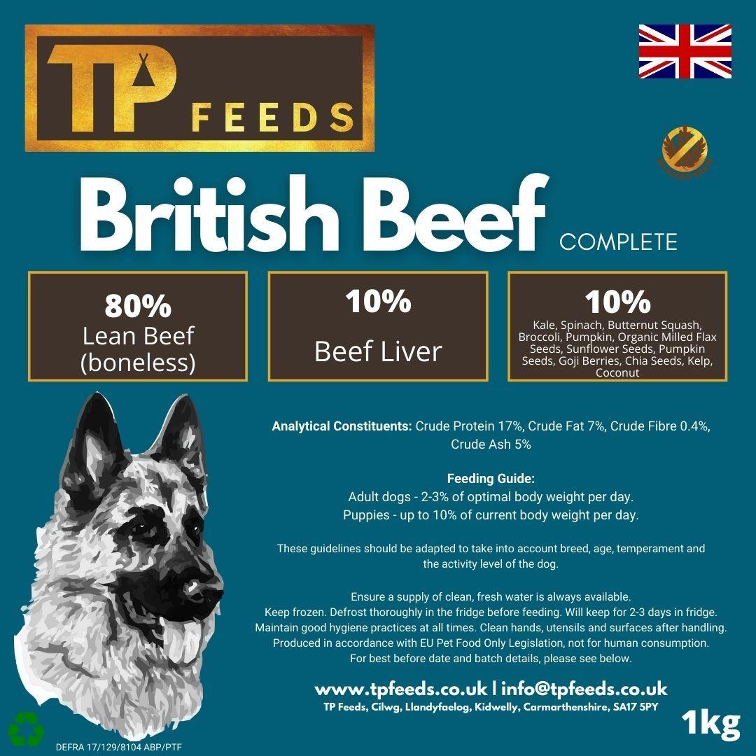 <!--011-->British Beef Complete (6kg - 18kg)