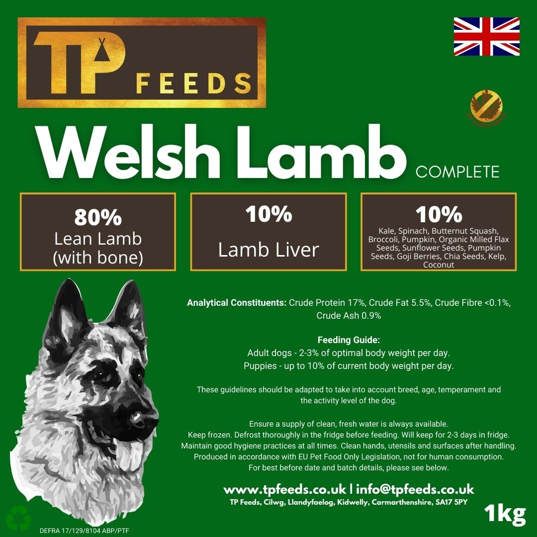 Welsh Lamb Complete (6kg - 18kg)