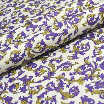 Purple and Gold Florentine