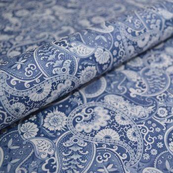 Kashmir Blue Paisley