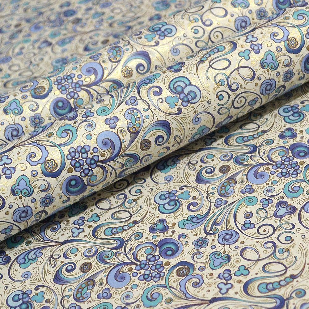 Art Nouveau Blue