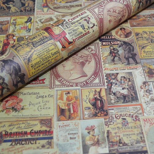 Vintage Ads - Fine Decorative Italian Paper