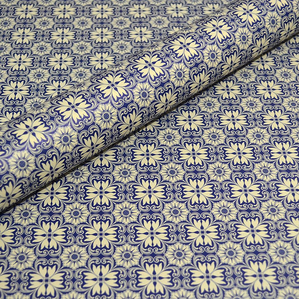 Italian Decorative Paper - Varese Blue
