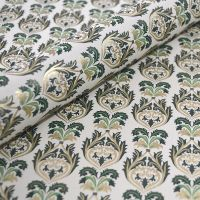 Brocade Green and Gold