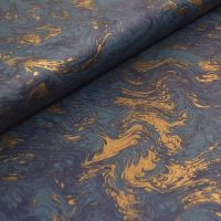 Blue and Gold Marble