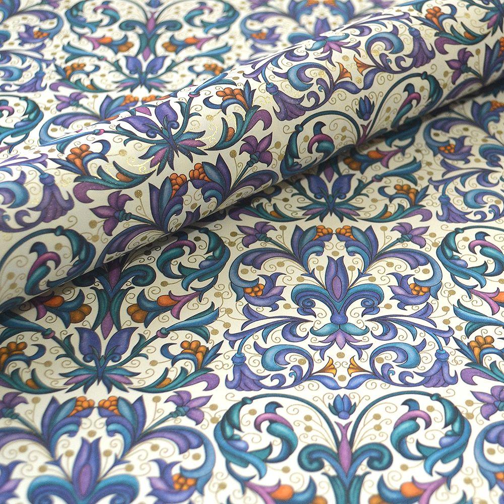 Purple Fleur de Lis