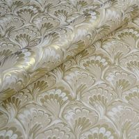 Cream and Gold Feathered Marble