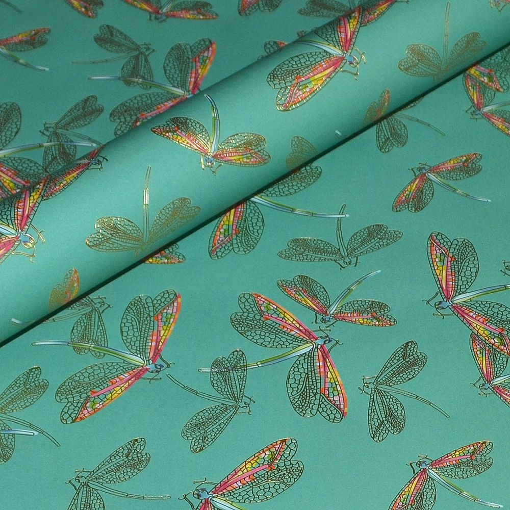 Turquoise Dragonflies