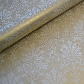 Soft Gold Damask