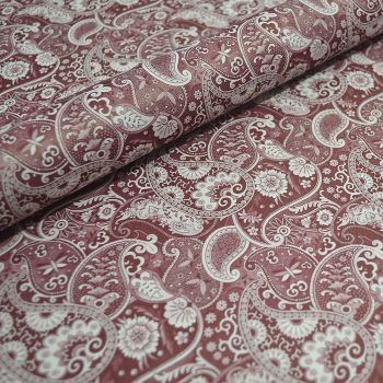 Kashmir Red Paisley