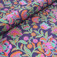 Floral Twist Purple