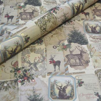 Christmas Vintage Reindeer