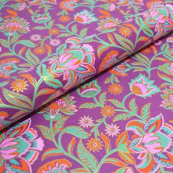 Floral Twist Magenta