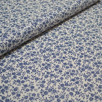 Ditsy Blue Floral