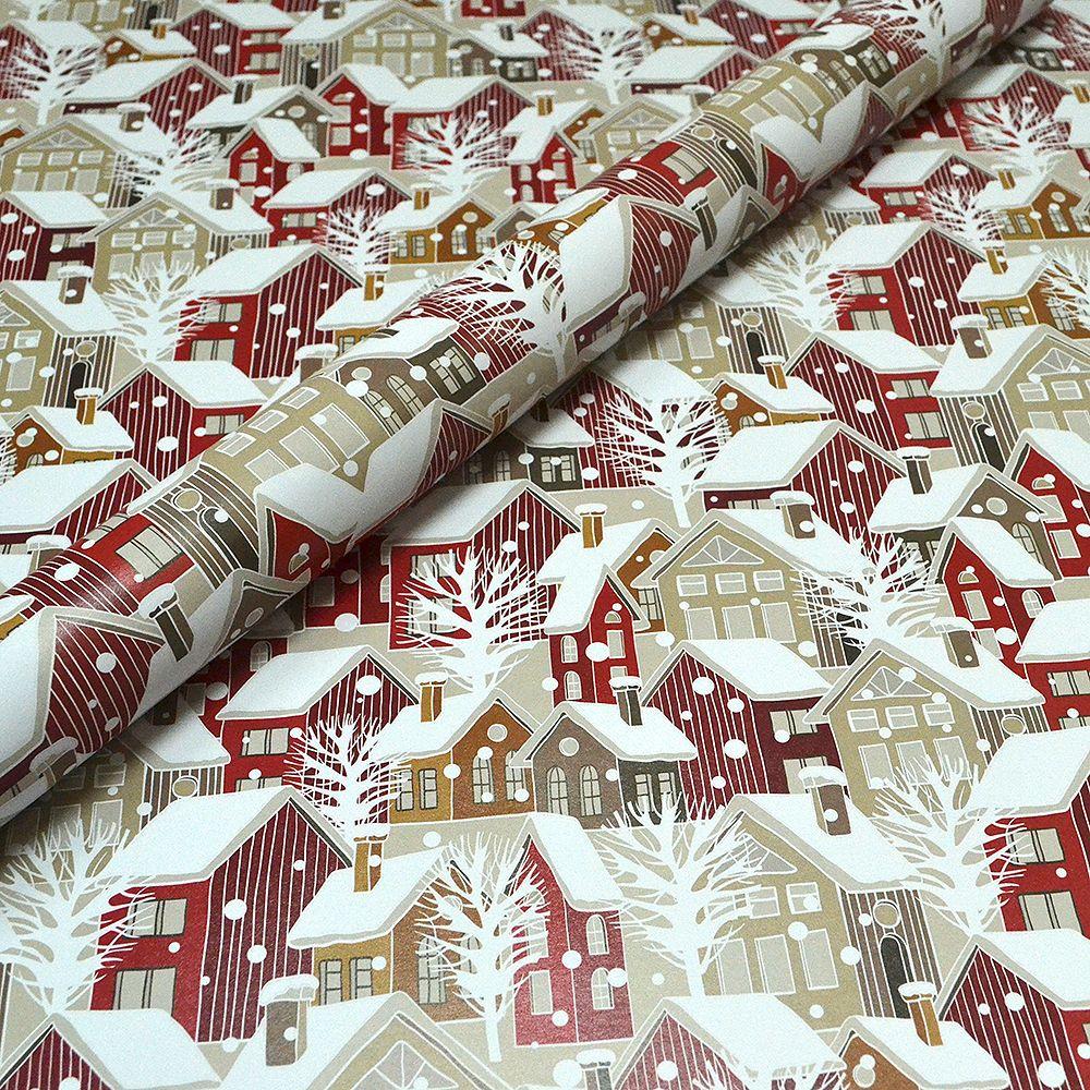 Scandi Christmas Houses