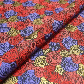 Rambling Roses Red