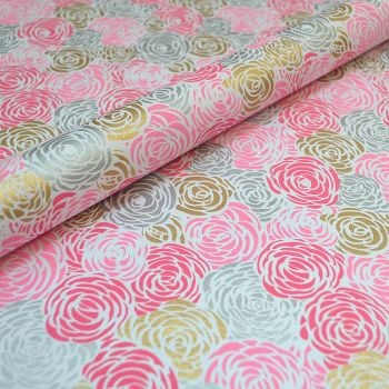 Rambling Roses Pastel Pink