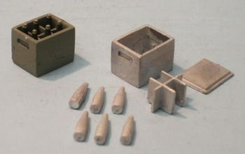 PW34/2 - Beer Crate with separate Bottles