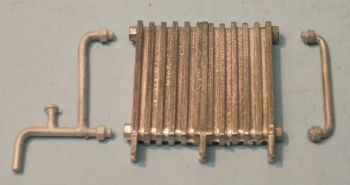 PW48 - Cast Iron Radiator & Pipework