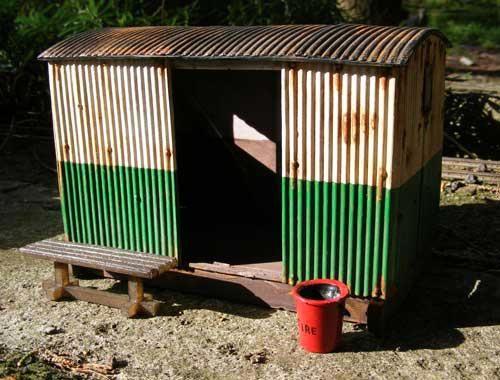 BK001 - Grounded Van Body Station Shelter