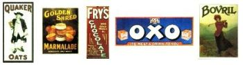 AV03 - Advertising Signs Set 3