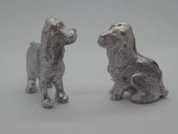 PP18 - 2 Spaniel Dogs