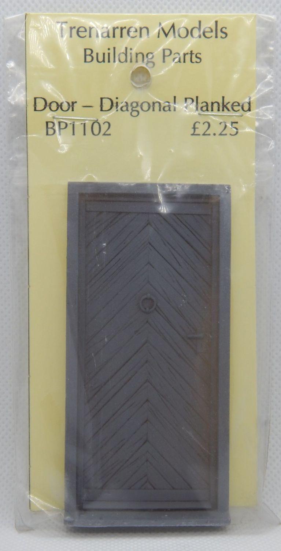 Door - Diagonal Planked
