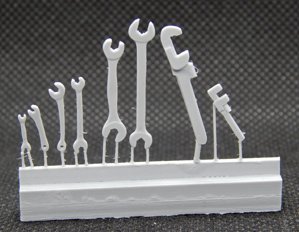 PW66/3 - Set of 8 Spanners & Wrenches