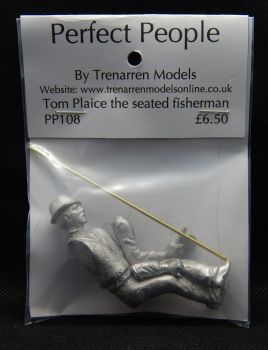 PP99108 - Tom Plaice Seated Fisherman