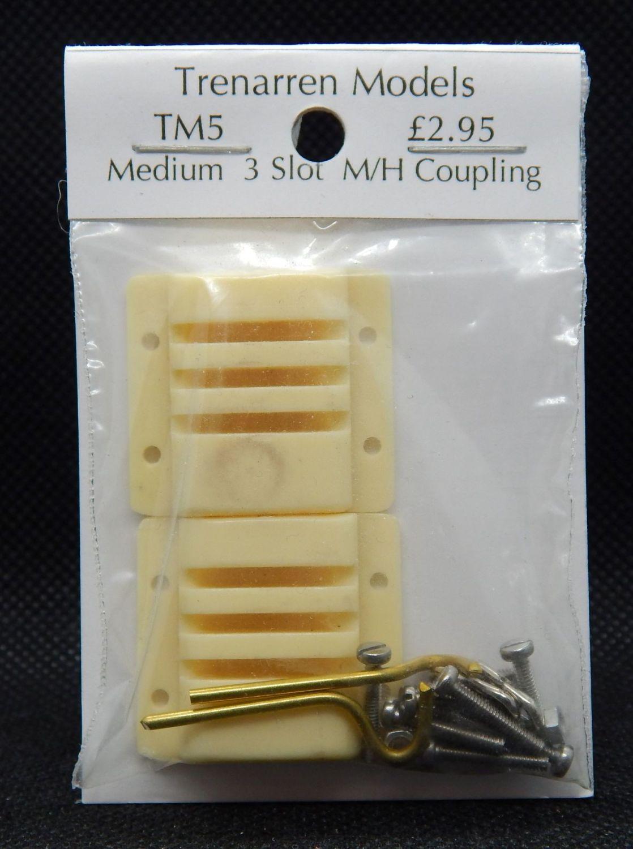 TM05 - Medium 3 Slot Multi Height Couplings