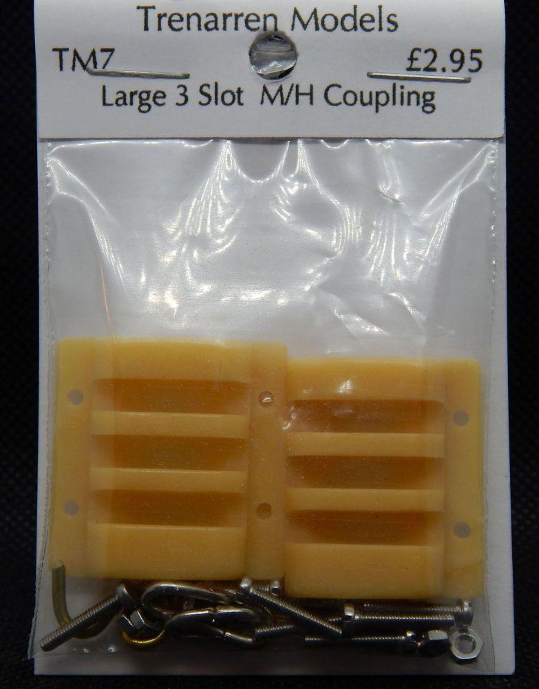TM07 - Large 3 Slot Multi Height Couplings